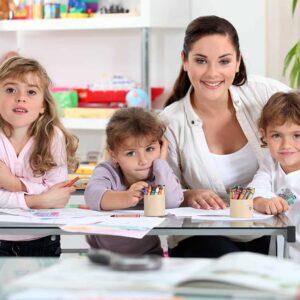 Especialízate con el curso de Auxiliar de Escuela Infantil y accede al sector de educación preescolar.