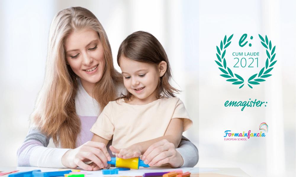 Formainfancia obtiene el Sello Cum Laude 2021 por las opiniones de sus alumnos/as