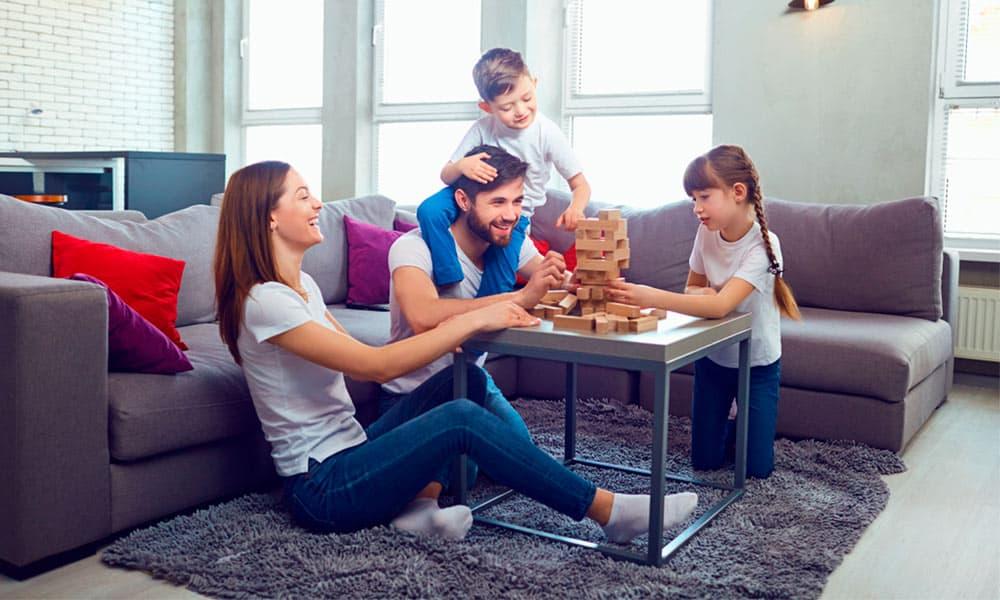 8 actividades en familia para hacer en casa