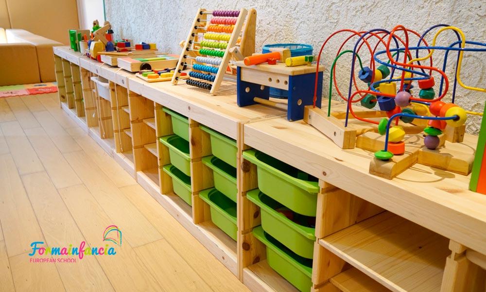 Aulas Montessori: cómo son y cuáles son sus áreas de aprendizaje