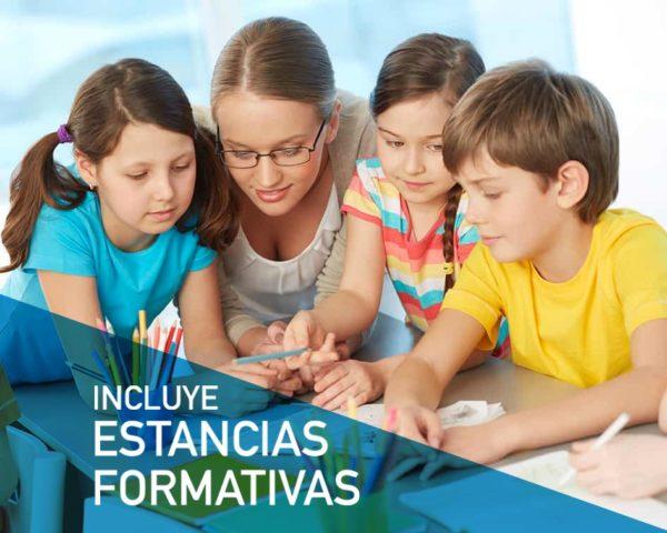 Fórmate como Auxiliar Educación Infantil online y con Estancias Formativas incluidas