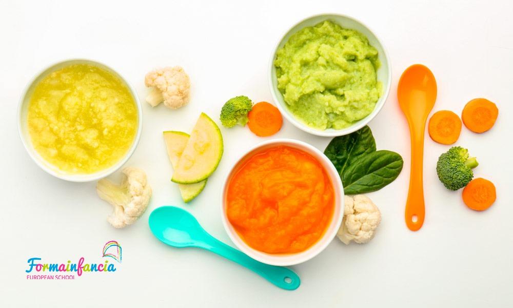 Cómo introducir el Beikost o alimentación complementaria en los bebés