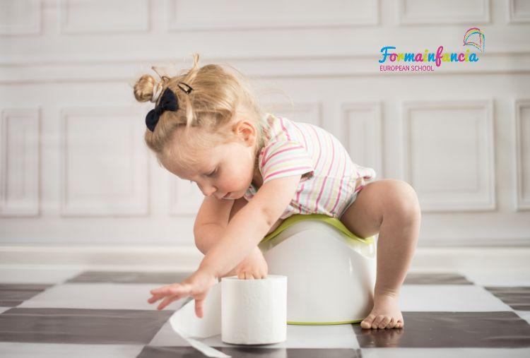 Cómo trabajar el control de esfínteres en los niños