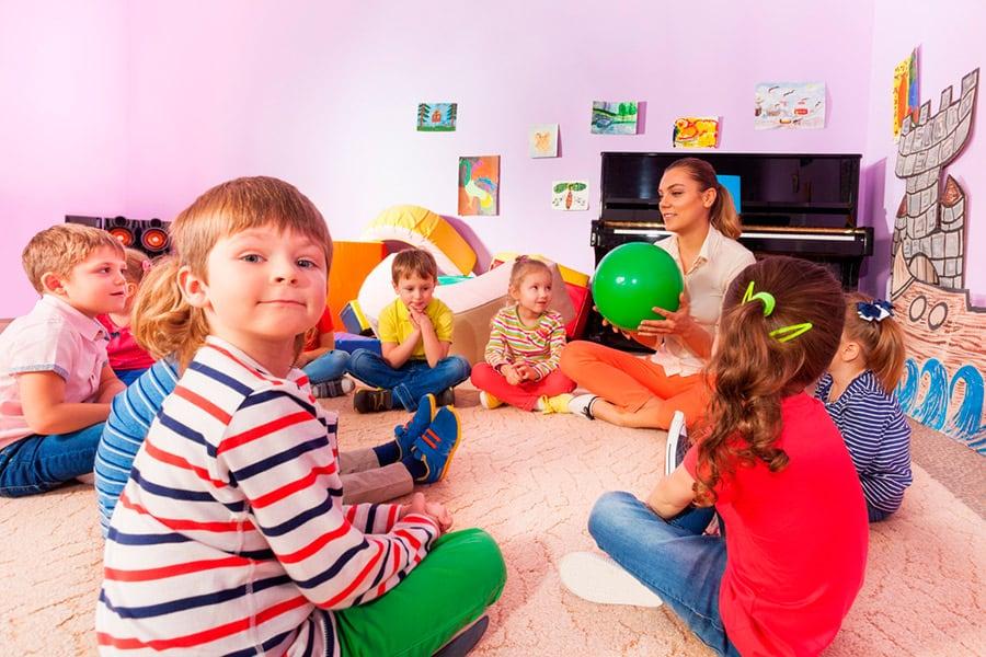 aprender dinámicas de presentación para grupos de niños
