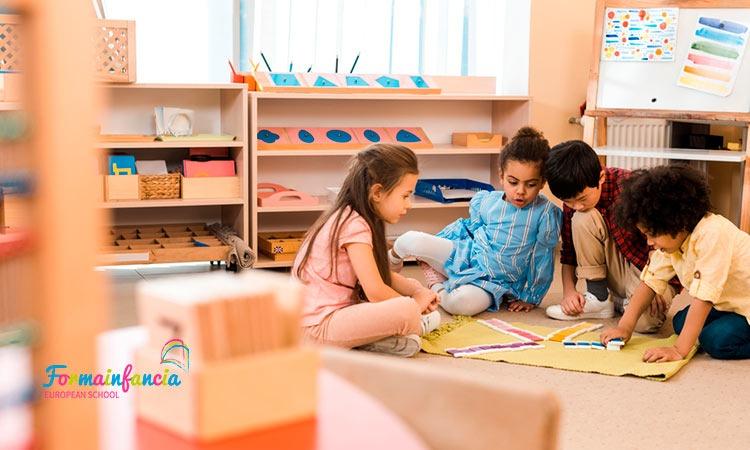 Cómo es una escuela infantil Montessori