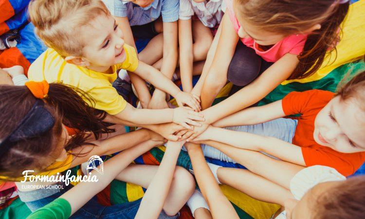 Juegos cooperativos: tipos y beneficios para los niños