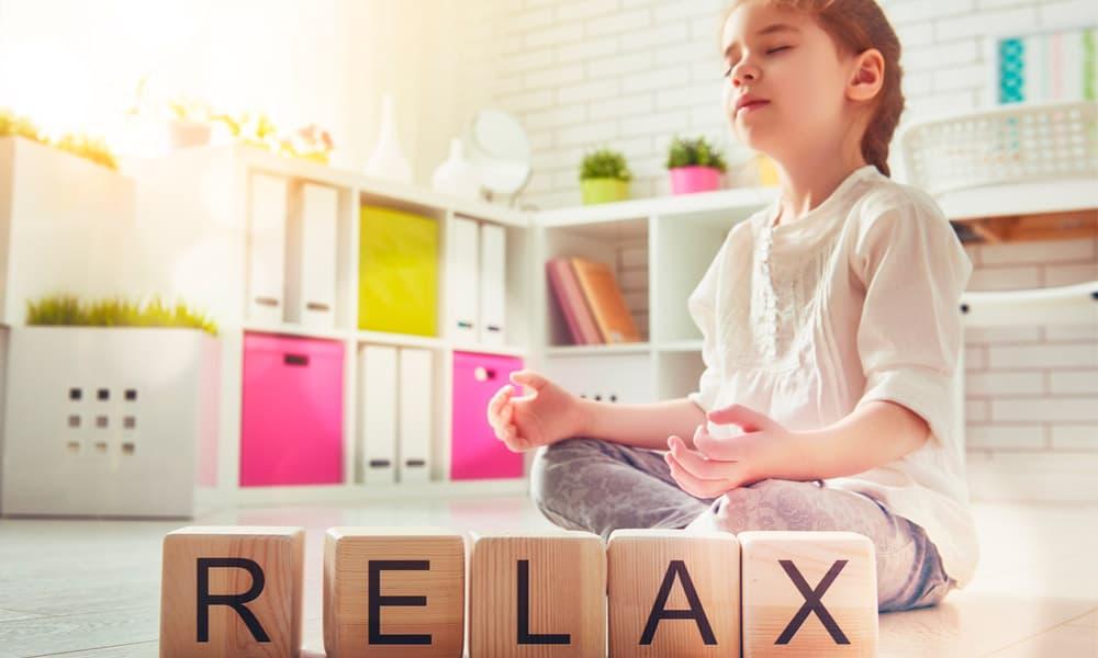 Meditación en niños para relajarles durante el confinamiento