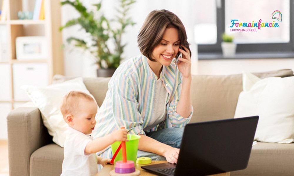 Vuelta al trabajo con los niños en casa: ¿qué alternativas hay?